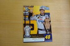 2009 Press Pass Gold #188 Jimmie Johnson 2008 Championship Card