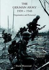 German Army 1939-1945 by David Westwood (2003, Paperback)
