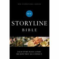 NIV, Storyline Bible, Hardcover, Comfort Print - Zondervan