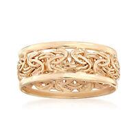 Ross-Simons 18kt Gold Over Sterling Byzantine Ring