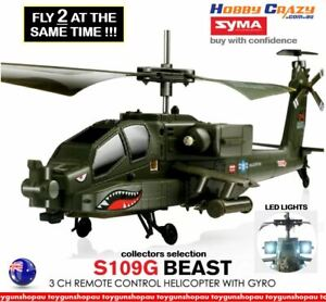 RC Army Syma S109G 3.5Ch Remote Control Led Light Best Rc Helicopter with Gyro
