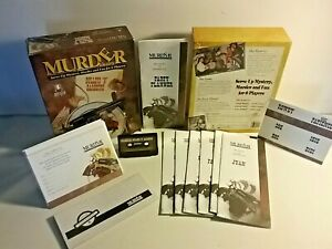 Murder a la cerate Mystery Murder Bullets N Barbecue kid and Adult Fun 1994