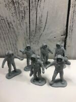 Vintage Marx Operation Moon Base 1960s Silver gray  Plastic PlaySet Figure
