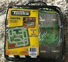 "Tonka 40"" X 40"" Children's Construction Road Floor Game Rug Hasbro UNUSED Mint"