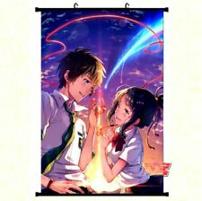 Großes Kimi No Na Wa Your Name Stoffposter Rollbild Anime Manga Poster 60x90CM