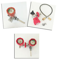 HP Red and Filling Station with hose for PCP Paintball Refill Kit