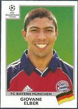 PANINI UEFA CHAMPIONS LEAGUE 1999-00- #237-BAYERN MUNICH-GIOVANE ELBER