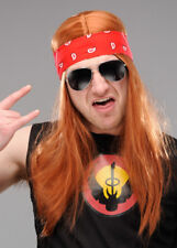 Mens Axl Rose Style Accessory Kit with Wig