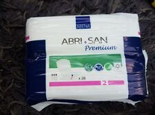 Abena Abri-San Premium Incontinence Pads, Size 2 , 28 Pack