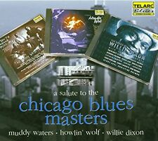 A Salute To The Chicago Blues Masters [CD]