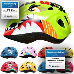 SkullCap® Fahrradhelm für Kinder, Kinderhelm für Jungs - Dino Polizei Feuerwehr