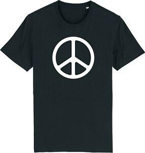 Peace Symbol CND Sign Ban the Bomb - Retro T-Shirt