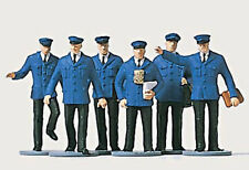 Figuren Merten TT (2529): Bahnpersonal