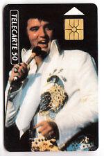FRANCE PHONE CARD / TELECARTE .. 50U PRIVEE ELVIS PRESLEY LIMITED EDITION/CHIP