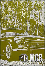 1970 1971 1972 MG MGB Owners Manual USA Owner Guide Driver Handbook 70 71 72