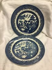 Churchill  Willow Two Dinner Plates