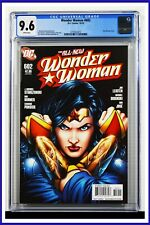 Wonder Woman #602 CGC Graded 9.6 DC October 2010 Don Kramer Cover Comic Book