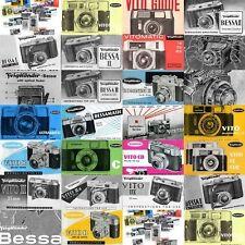 26 Voigtlander / Voigtländer manuals + 224 phots very good quality. DOWNLOAD