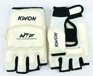 KWON WTF Taekwondo Sparring Gloves Karate Martial Arts Hand Protector Size L *L