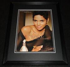 Halle Berry 2011 Reveal Fragrance Framed 11x14 ORIGINAL Advertisement