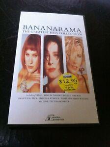 Bananarama The Greatest Hits Collection VHS Polygram VG Venus Cruel Summer HTF