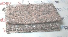 Foldover Clutch w/ Removable Crossbody Chain Mossimo Supply Rose Gold Sequins