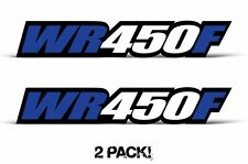 AMR Racing Yamaha WR 450F Swingarm Graphic Kit Number Plate Decal Sticker Part