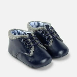 New Mayoral Baby Boy dress pram shoes, Age 0-2 months (9629)