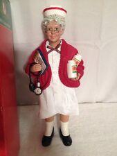 "Vintage Kurt Adler ""Fabriche"" Mrs. Claus In Original Box Mint Condition"