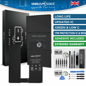 Genuine GEARDO Battery Replacement for iPad 3 4 5 6 7 2017 2018 10.2 Air 1 2