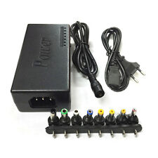 96W Multi-function Power Adapter Laptop Power 12-24V Universal Volt Charger