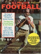 1971 All Pro Football  magazine, John Brodie, San Francisco 49ers ~ Very Good