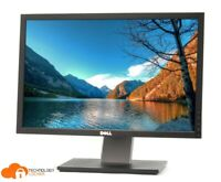 "Dell UltraSharp 2209WAf  22"" LCD Widescreen Monitor 1680 X 1050 VGA DVI Ports"