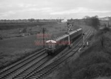 PHOTO  DMU 3 CAR SUBURBAN SET APPROACHING GAER TUNNEL BETWEEN PARK JUNCTION AND