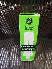 NEW GE 42W F42TBX/841/A/ECO gx24q-4 Fluorescent Light Bulb 42W 4Pin 4100K 97636