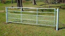 More details for half mesh galvanised field farm entrance security gate dog lamb safe 3ft-12ft