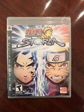 Naruto: Ultimate Ninja Storm PlayStation 3 Black Label US Version Brand New