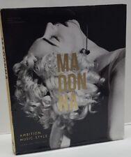 Madonna - Ambition. Music. Style by Caroline Sullivan (2015, Hardcover)