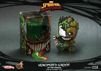 Venom - Venomized Groot Sitting Cosbaby-HOTCOSB761-HOT TOYS