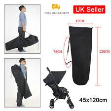 Pram Gate Check Travel Bag Umbrella Stroller Pushchair Buggy Cover UK Seller SUN