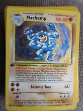 Fighting Holofoil Rare Base Set Pokémon Individual Cards