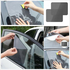 4 x Car Window Sun Shade Cover Static Cling Screen 16.5''x15'' Reusable Washable