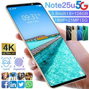 5.8  Inch Android 10 Smartphone 6GB+128GB Dual SIM 4500mAh Mobile Phone Unlocked