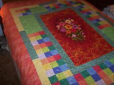 beautiful  QUILT  handcrafted cotton quilt  quilt  #5