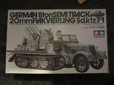 Tamiya 1:35 #35050 WW2 German 8 ton semi Track Sd.Kfz 7/1 20mm Flakvierling
