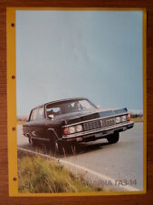 Chaika GAZ-14 limousine orig sales brochure prospekt-lwb tchaika Tschaika zil