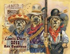 2011 Lowell Davis Art Calendar - Dalton Gang Antics