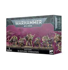 Warhammer 40k Death Guard Blightlord Terminators ->New in Box<-