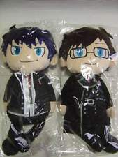 Blue Exorcist Plush Doll x2 Rin Yukio Okumura Brothers 45cm Cushion Anime F/S