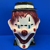 Vintage Brush McCoy CLOWN COOKIE JAR